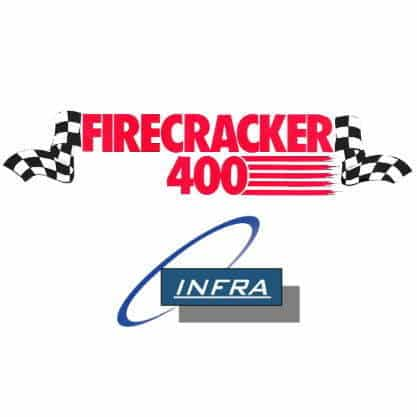 IT Hardware Giant INFRA Resolutions Partner with Landon Cassill and Parker Kligerman to present the Firecracker 400 on the iRacing platform