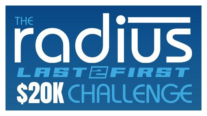 THE RADIUS LAST TO FIRST $20,000 CHALLENGE FOR THE BLUE-EMU FIRECRACKER 400